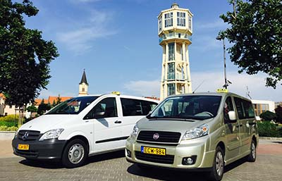Siófok Minivan taxi - for 7, 8, 9 passengers. With even big space and luggage-rack, it is really comfortable for long trips, airport transfers, hotel transfers, international journeys with many suitcases. Fully air-conditioned premium category, especially for smaller groups.