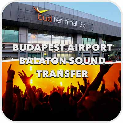 We are using this transfer prices during the Balaton Sound Festival between 03. July 2017 and 10. July 2017. Book your private car transfer (minibus, minivan, taxi) from Budapest to the BalatonSound Festival in Zamárdi and Siófok vice versa! You can use our transport service from Lake Balaton to Budapest Airport. Vienna Airport, Bratislava Airport, Graz Airport, Zagrab Airport or from and to other airports. DURING THE FESTIVAL TRANSFER PRE BOOKING REQUIRED!