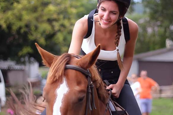 Balaton horse riding - Trip to Lake Balaton, scenic tour