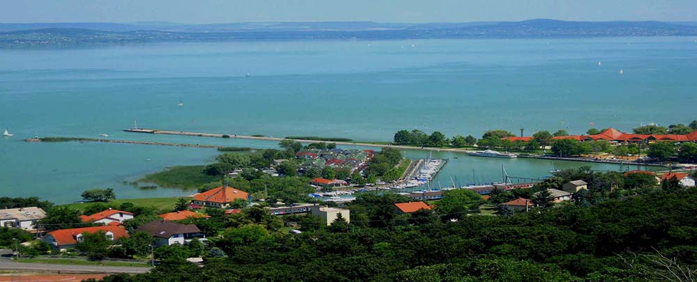 Fonyód - Lake Balaton scenic tour