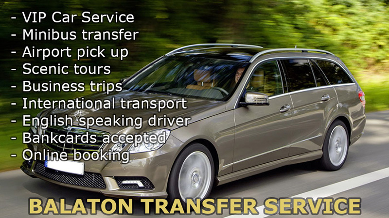 Direct transport with English speaking driver from Budapest Airport to Siófok and Lake Balaton, vice versa. Airport pick up, private car transfer door to door on cheap, fixed prices